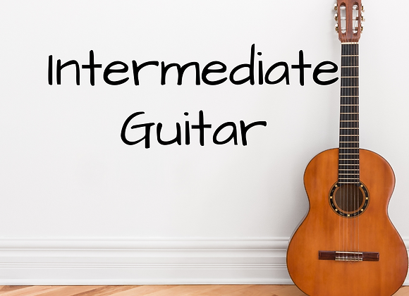 Intermediate Guitar with Ethan - Virtual & In Person