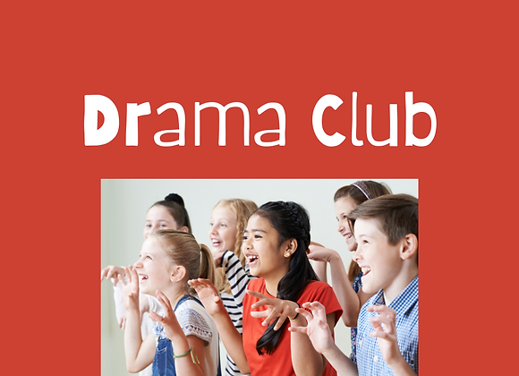 Drama Club for Middle Schoolers