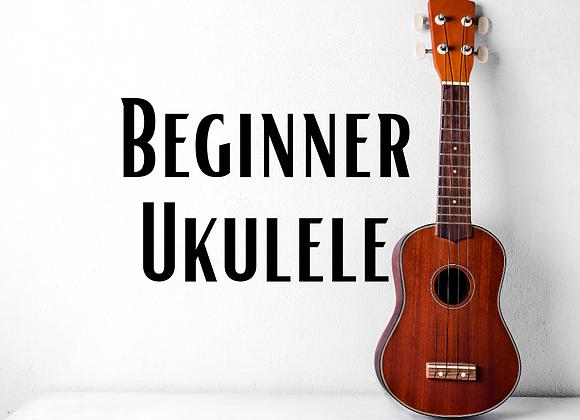 Beginner Ukulele with Steve Gregory