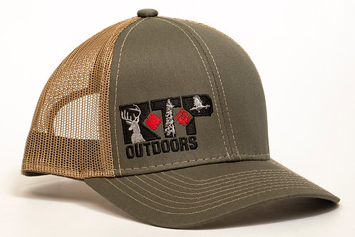 RTP Outdoors Olive/Tan Hat
