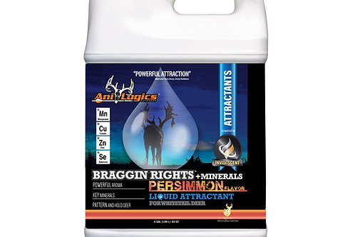 BRAGGIN RIGHTS LIQUID PERSIMMON 1/2 GALLON