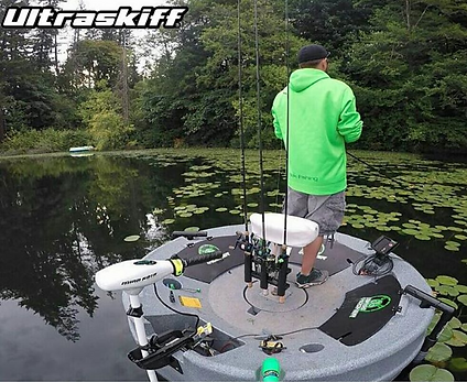 Take the Ultraskiff 360 Where Other Boats Can't Go