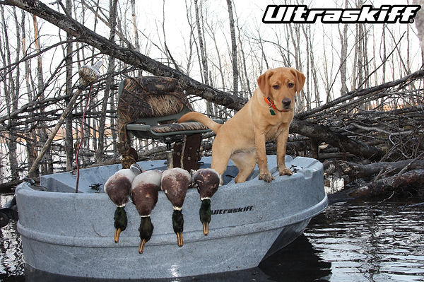Ultraskiff 360 Can Be Your Personal Duck Hunting Boat