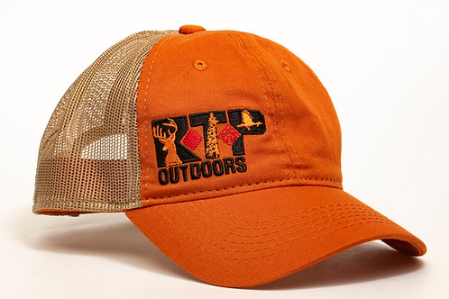 RTP Outdoors Orange/Tan Hat