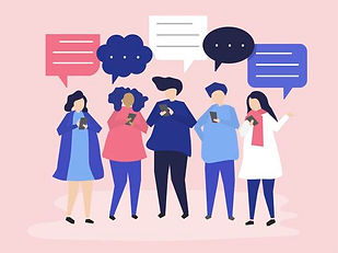 vector-characters-of-people-chatting-thr