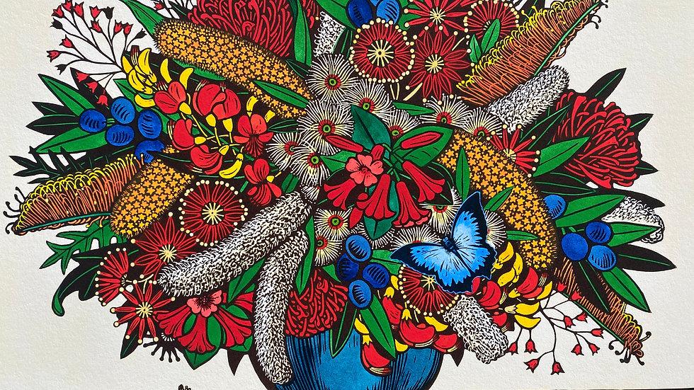Leslie Van Der Sluys 'Ruth's Rainforest Bouquet [Queensland] 1994