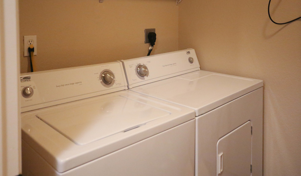 Washer and Dryer Options