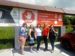 Nový propagační billboard na dárcovství kostní dřeně před restaurací Lutena v Dolní Lutyni. Děkujeme