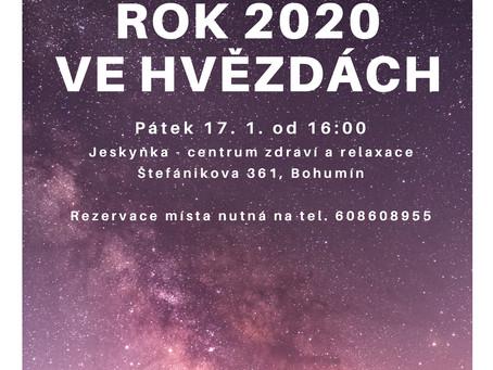 Setkání s astroložkou Jarmilou Gričovou proběhlo v pá 17.1. od 16h v Solné jeskyni Bohumín