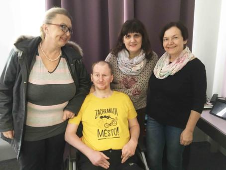 Almamaterky opět drží slovo a pomáhají postiženému Štěpánovi
