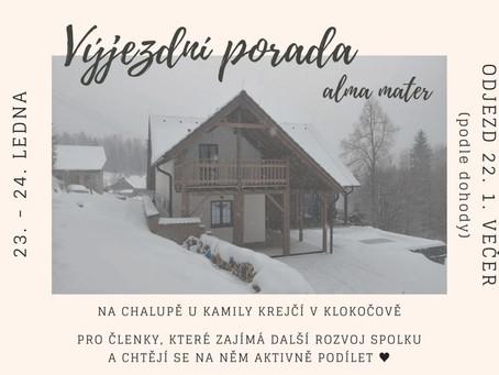Výjezdní porada AM v Klokočově – 22.-24.1.2020
