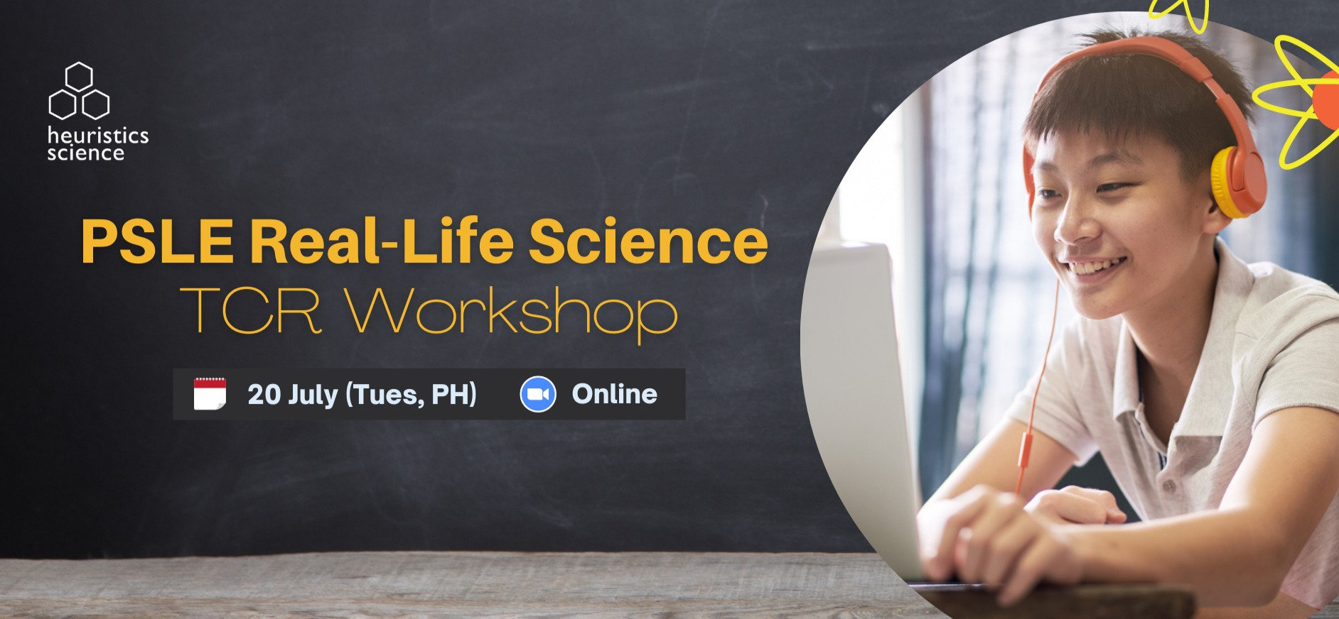 PSLE Real-Life Science  TCR Workshop