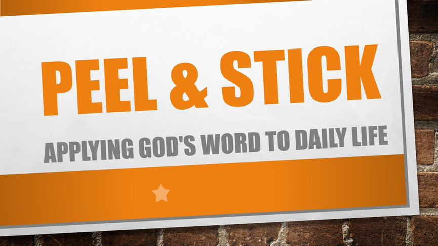 Peel & Stick