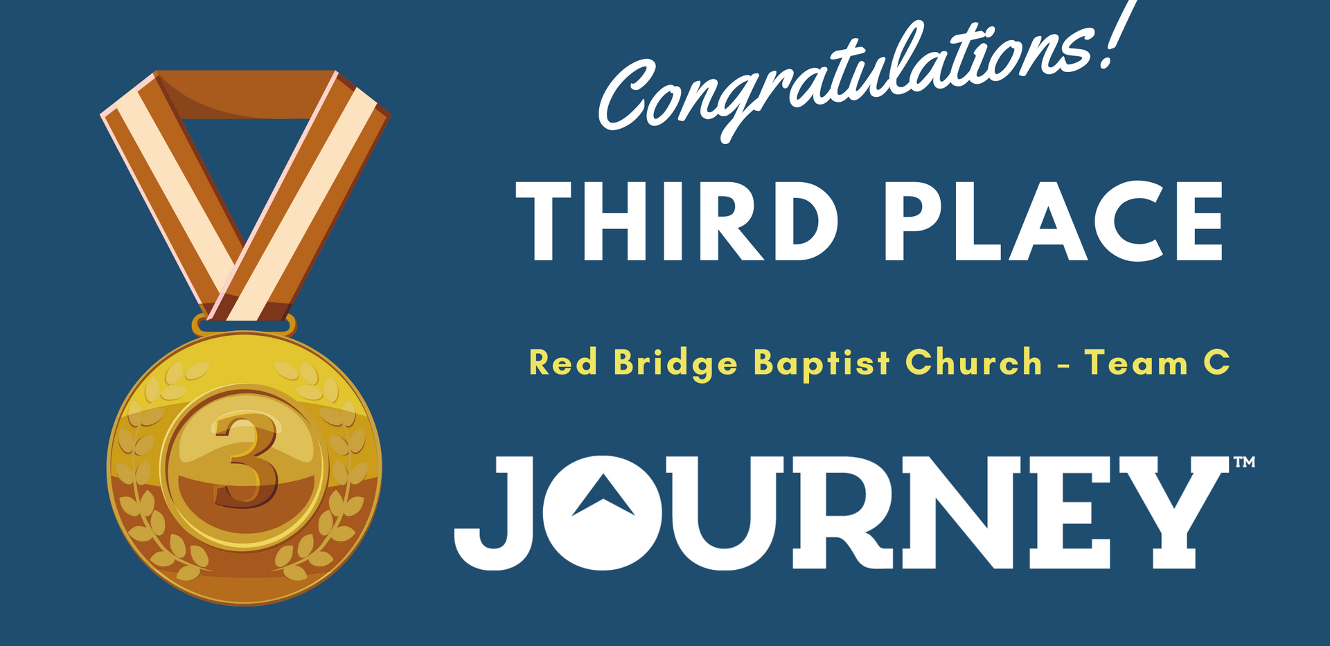 Journey - 3rd place
