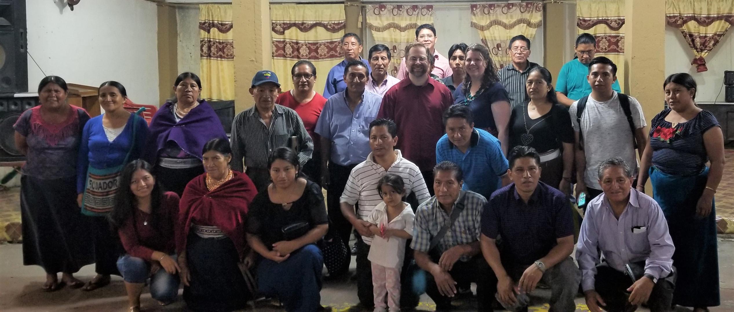 Quichua Pastors Family Conference
