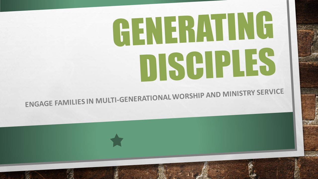 Generating Disciples