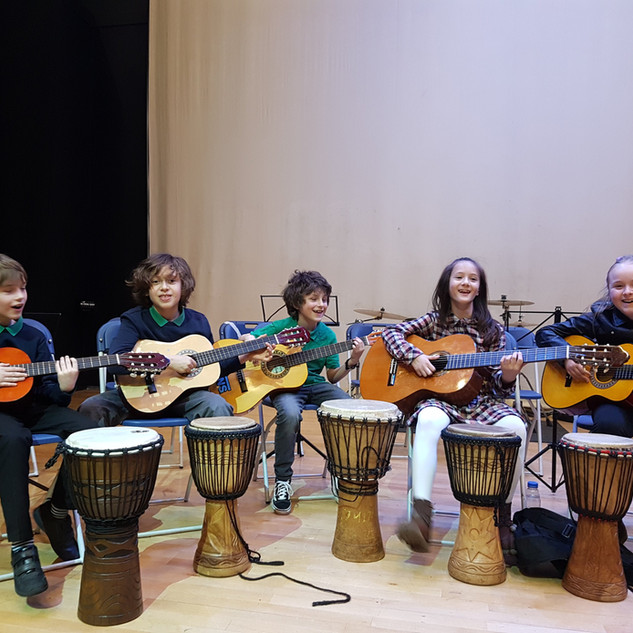 Music School Guitar Group