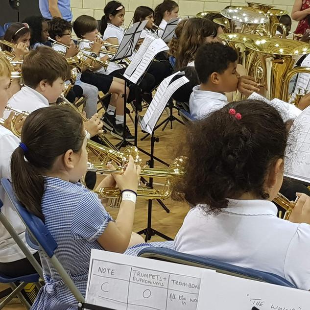 Massed brass concert