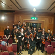 Waltham Forest Youth Orchestra group shot