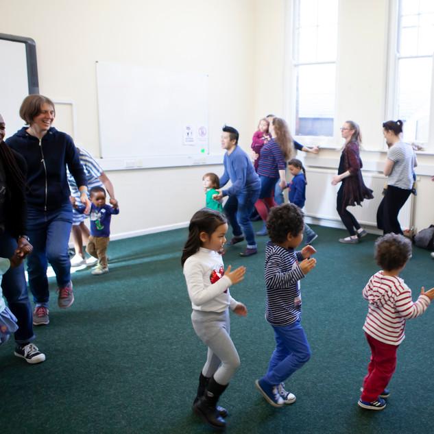 Mini musicians toddler class