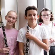 Woodwind group pupils