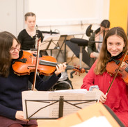 Youth Orchestra rehearsal