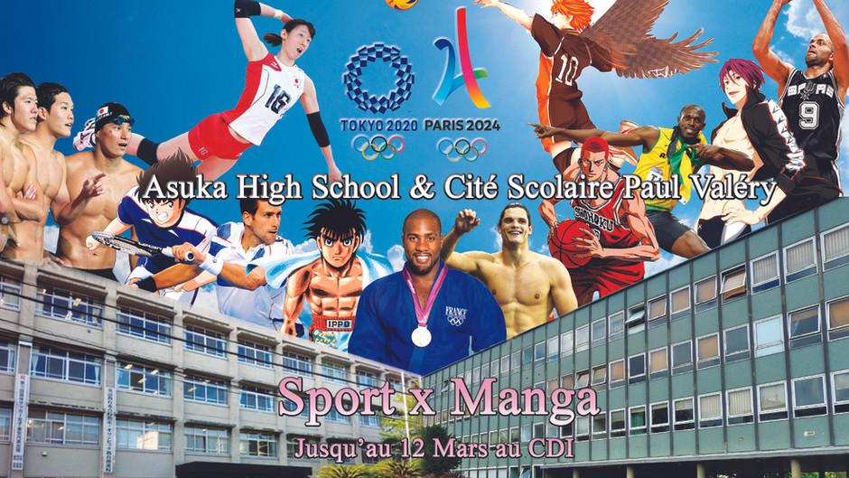 Exposition : Sports et Manga!