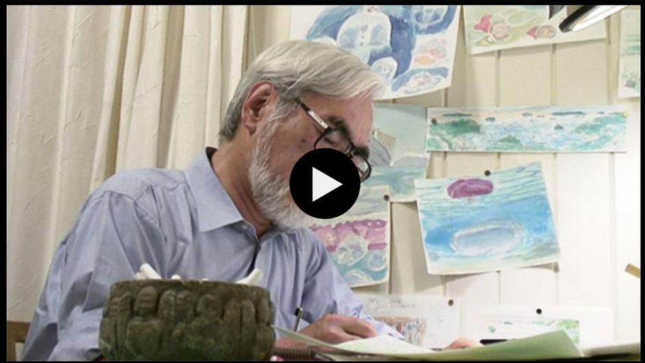 Hayao Miyazaki ouvre les portes!