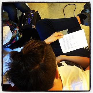 Atelier d'écriture. SLAM