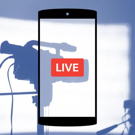 Live Facebook ce vendredi 13 août à 11h