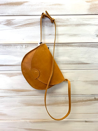 Hana Saddlebag - Cognac