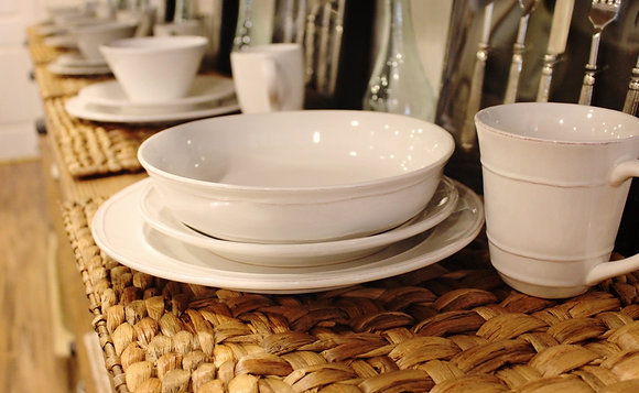 Ivory Dinner Plate