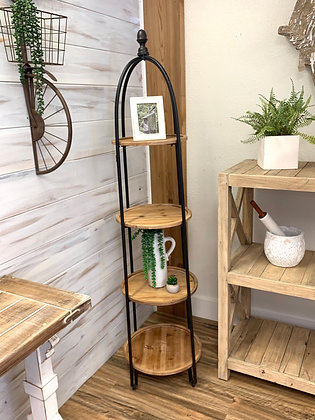 Tiered Shelving Unit