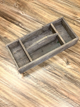 Rustic Wooden Toolbox