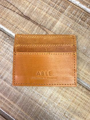 Alem Card Case - Cognac