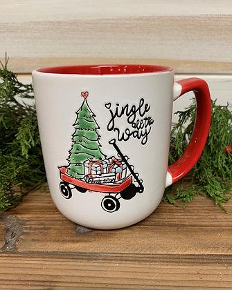Christmas mug ~ jingle all the way