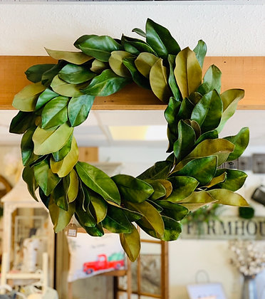 Estate Magnolia Wreath