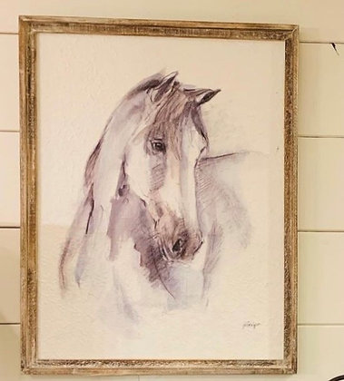 Horse Picture turned to right
