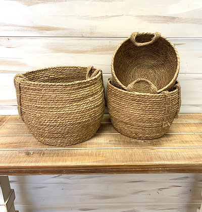 Seagrass Basket ~ Large