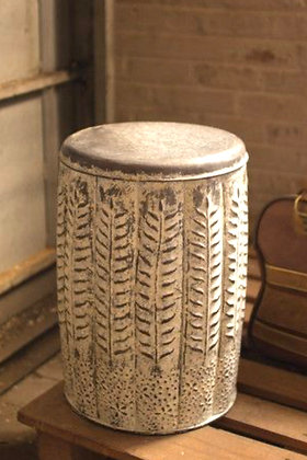 Pressed Tin Stool