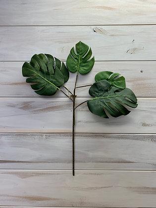 "Monstera Leaf Stem 24"""