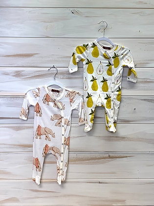 Footed romper - 0-3 months