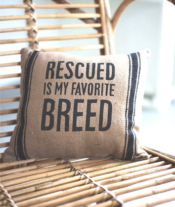 Rescued Pillow