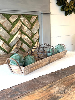 Wood Trough ~ Small