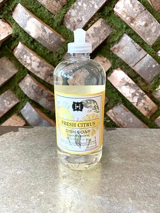 Hillhouse Naturals Citrus Dish Soap