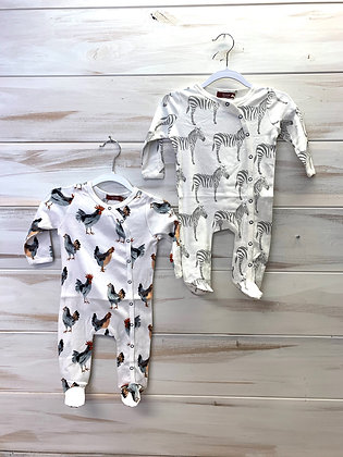 Footed romper 3-6 months