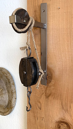 Pulley Anchored to Wall