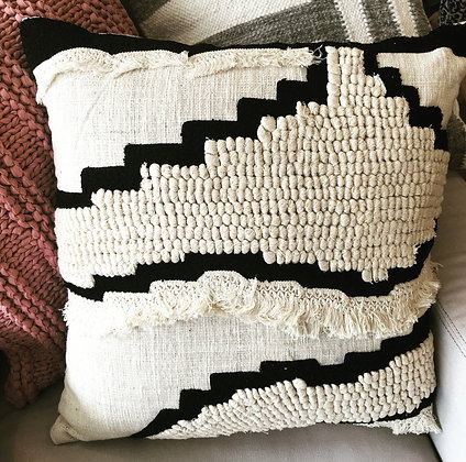 "Elise 22"" square Magnolia Home pillow"