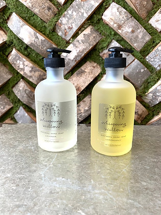 Whispering Willow Natural Hand Soap