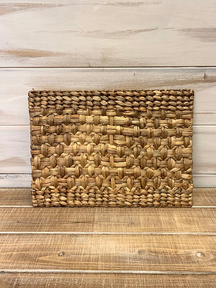 Woven Water Hyacinth Placemat